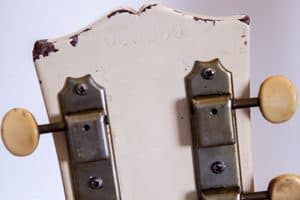 1967 White Gibson SG Junior