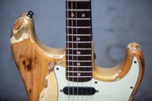 1979 Fender Stratocaster, Antigua worn finish