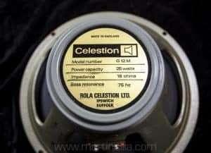 Vintage Celestion 25 watt Speakers mid 70s