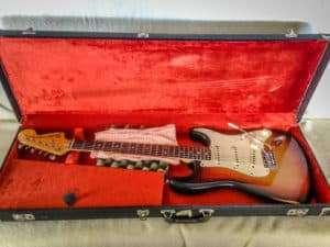 1972 Sunburst Fender Stratocaster