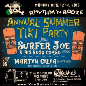 Spikes Bar & Grill - 12th August 2013, Rosemead CA