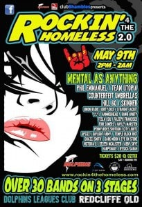 Rockin for the Homeless 9th May 2015