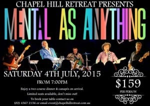 Mentals Chapel Hill 4th July 2015