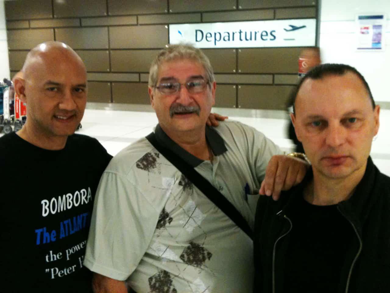 L-R: Lloyd Gyi, Jim Skiathitis, Martin Cilia