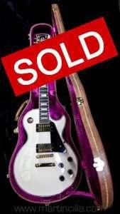 Gibson Custom Shop Les Paul Custom Alpine White Gold Hardware