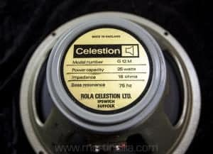 Vintage Celestion 25 watt Speakers mid 70s