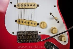 Fender Stratocaster 1958 Fiesta Red